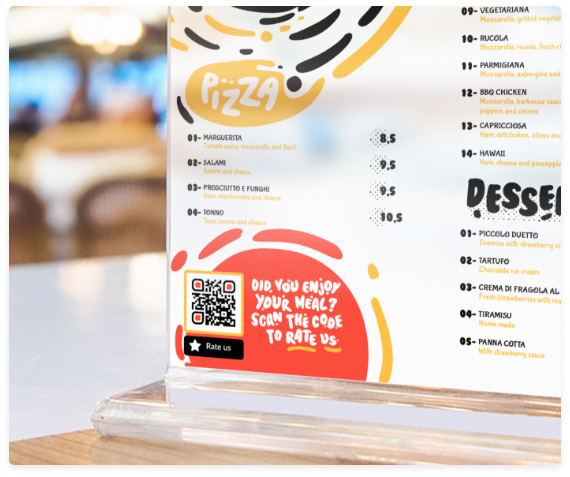 how to use qr codes on table tents qr code generator