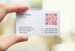 Scroll Down To See Qr Code Use Cases Business Cards