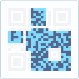 The data and error correction keys that hold the actual data inside the QR Code