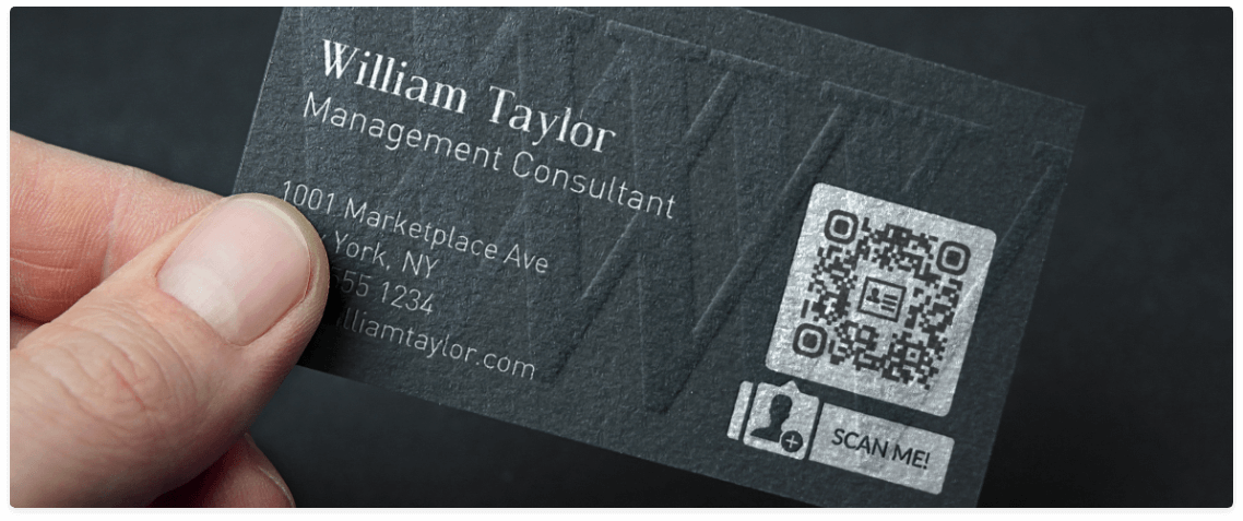 QR Codes on Business Cards | QR Code Generator PRO