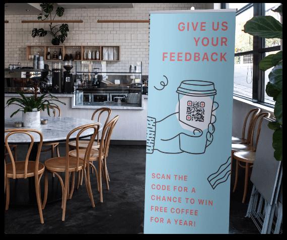 QR Codes on Giveaways | QR Code Generator PRO