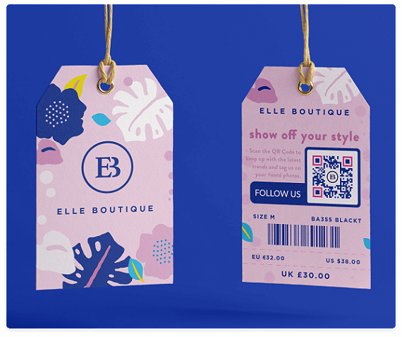 QR Codes on Labels & Stickers | QR Code Generator PRO