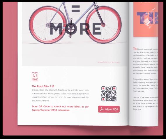 QR Codes on Magazines & Newspapers | QR Code Generator PRO